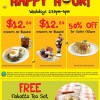 Swensen's Students & Senior Citizens Weekday Happy Hour Promotion