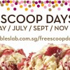 Marble Slab Free Scoops Days Starts End May Till November