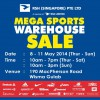 Royal Sporting House Mega Sports Warehouse Sale 2014