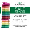 Lacoste Mid Year Sale Bazaar 2014 By Royal Sporting House