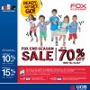 FOX Kids & Baby End Season Sale Till Mid July 2014
