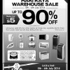 Cornell Hari Raya Home Appliances Warehouse Sale July 2014