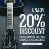 Find 20% Discount On Martin Guitars & Accessories @ City Music This August