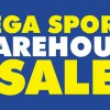 Royal Sporting House Mega Sports Warehouse Sale Happening this Weekend