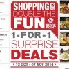 Bedok Point Double the Fun with 1-For-1 Surprise Deals till Early November
