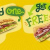 Subway Offers 1-For-1 Deal on 6-inch Sandwich for Just One Day