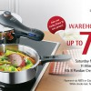 Don't miss WMF Warehouse Sale 2014 Happening this Weekend