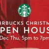 Starbucks Christmas Open House returns this Thursday with free beverage on the house