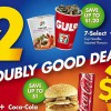 7-Eleven offers Doubly Good Deals on quick bites starting from just $2
