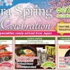 Japan Sakura Spring Food Fair now happening at Takashimaya Food Hall