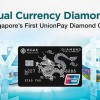 Bank of China first UnionPay Diamond Card in Singapore offers dual currency without exchange fees