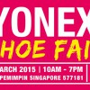 Massive discounts on badminton & tennis footwear @ YONEX Shoe Fair this weekend
