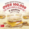 McDonald's largest Egg McMuffins Giveaway set to return on Monday 9 March