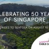 Singapore Cable Car to offer free rides on 10th August in #SG50 celebration