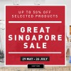 ToTT Great Singapore Sale now on with half-price discounts on selected items