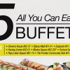 Sakae Sushi to serve $15 Tea-Time Buffet at 8 selected restaurants