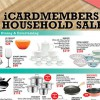 Isetan iCardmembers' Household Sale happening for one day this Friday