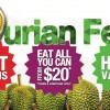 Durian Fest @ Bugis Street is happening this Saturday