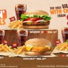 Burger King Flamin' Hot Deals – Value Meals with Cheesy Fries for $4.50