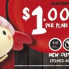 Sushi Express opens new outlet in Jurong Point with $1 plates special