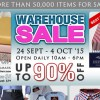 Biztex Warehouse Sale returns this week, more than 50,000 menswear & bedding items on sale