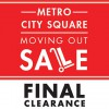 Metro exits City Square with clearance sale up to 80% discounts
