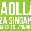 llaollao Plaza Singapura turns one with special prices on small to large tubs