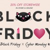 Rockstar Black Friday x Cyber Monday week offers 20% on everything storewide