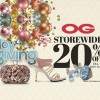 OG offers 20% discount storewide this weekend to kick off Christmas shopping season