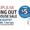 Popular Moving Out Warehouse Sale with Book Buffet at Old Toh Tuck Road