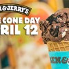 Ben & Jerry's 'Free Cone Day' is making a return on April 12th this year