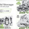 Cold Storage's selected berries goes on sale for a limited period this weekend