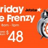 Take a look at Jetstar Friday Fare Frenzy this week