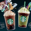 Starbucks new Chocolate Black Tea & Double Chocolate Green Tea with 1-for-1 Offer