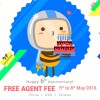 EzBuy (f.k.a. 65Daigou) Free Agent Fee Promotion in 6th Anniversary Celebration this week