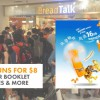 BreadTalk 16th Anniversary Celebration: 6 x Flosss Buns for $8, Voucher Booklet & More