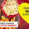 Nando's is giving you a 1/4 Peri-Peri Chicken for free, here's how to redeem yours