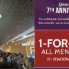 Ginza Bairin celebrates 7th Anniversary with 1-for-1 Offer on All Menu this week