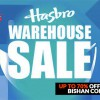 Official Hasbro Warehouse Sale returns to Bishan Community Club on August 26