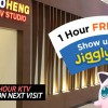 Teo Heng KTV to give you 1 Extra Hour Free Singing when you show them your Jigglypuff