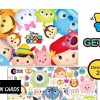 Disney Tsum Tsum x EZ-Link Collectible Cards have arrived