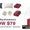 Buy the $79 MUJI Lucky 'Fukubukuro' Bag which could come with goodies worth up to $249.80