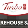 Turbo Italia Warehouse Sale on kitchen hob, hoods and appliances starts on October 7