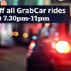 Get home cheaper with Grab $5 discount code in the evenings this week