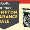 Brompton Bikes Clearance Sale by Mighty Velo lets you save over $500