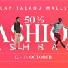 CapitaLand Malls 50% Fashion Cashback: Spend $60 and get $30 CapitaVoucher back