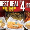 Manhattan Fish Market promotion gone mad! Pay only $4.99 for these signature dishes