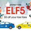 Take $5 off Comfort Taxi rides with this promo code this weekend