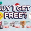 Watsons Buy 1 Get 1 Free + discounts up to 50% storewide ends on December 21