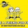 Buy 1 Get 1 Free to 21 destinations with Scoot's latest travel promotion